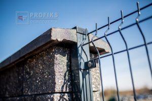 Panel 123 133 153 173 grafit antracyt ogrodzenie panelowe panele przetłaczane pustak łupany słupek panelowy Radom producent Zwoleń Pionki