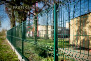 Panel Ogrodzeniowy 153 cm HR4 RAL6005 zielony podmurówka systemowa brama przesuwna furtka Ogrodzenie Panelowe Radom Panele ogrodzenie przetłaczane ogrodzeniowe 3D ogrodzenia systemowe producent łącznik Pionki Dęblin