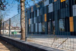 Ogrodzenie panelowe ogrodzenia murowane podmurowka pustak łupany grafit panel przetłaczany antracyt Radom montaż producent Zwoleń Przysucha