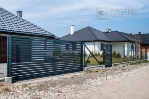 Ogrodzenia panelowe panel ogrodzeniowy brama furtka ogrodzenie spawanie poziom profil spawane na wymiar podmurówka betonowa furtka brama przesuwna producent Radom Starachowice
