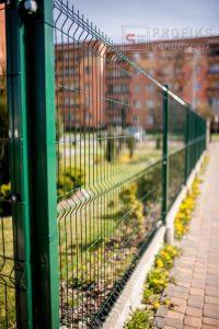 Panel Ogrodzeniowy 153 cm HR4 RAL6005 zielony podmurówka systemowa Ogrodzenie Panelowe Radom Panele przetłaczane ogrodzeniowe 3D ogrodzenia systemowe producent łącznik Lipsko Pionki Warka