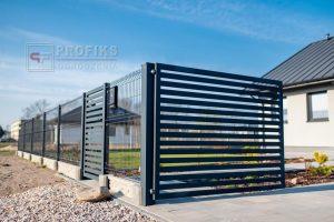 Ogrodzenia panelowe panele przetłaczane 3D podmurówk asystemowa brama skrzydłowa spawana spawanie na wymiar nowoczesne ogrodzenie Radom producent furtka stalowa Zwoleń Białobrzegi Jedlińsk