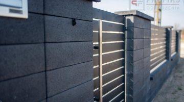 Ogrodzenie metalowe ogrodzenie murowane spawane stal spawane na wymiar profil poziom nowoczesne Radom montaż Pionki Kozienice