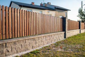 Pustak łupany ogrodzenia murowane ogrodzenie montaż Radom Białobrzegi Pionki